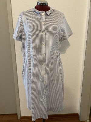Blau/weiß gestreiftes Sommerkleid von Nümph