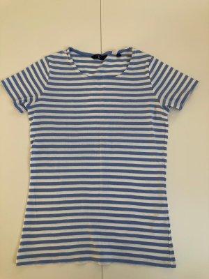 Blau weiß gestreiftes T-Shirt von Gant