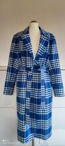 Ipekyol Oversized jas wit-blauw