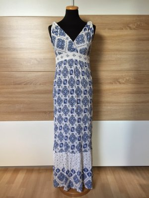 Blau weiß Maxi Kleid von Zara, Gr. S (NEUw.)