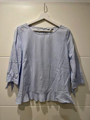 Blau-weiße Bluse in Größe M von Mavi