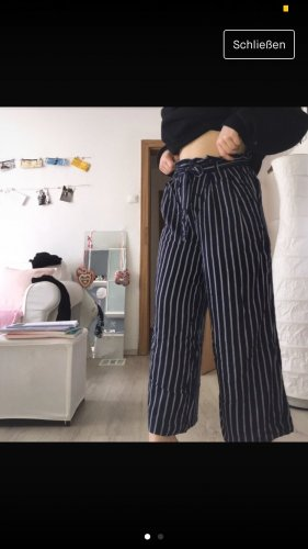 Blau/weiße culotte