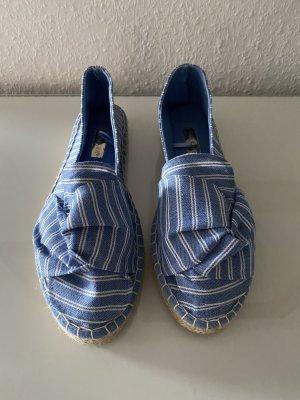 Blau weiße Espandrillos von Primark