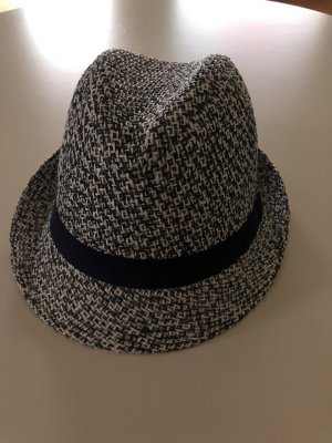 H&M Straw Hat white-blue