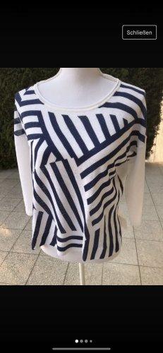 Max & Co. Maglione girocollo bianco-blu scuro