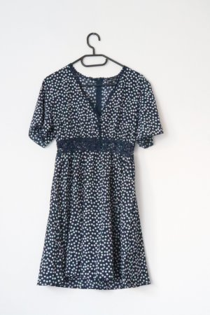 blau/weißes Sommerkleid
