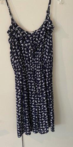 blau/weißes Sommerkleid Pimkie Gr. S