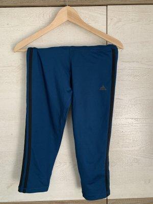 blaue 3/4 Adidas Leggins