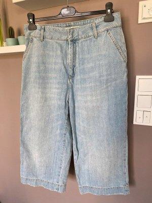 Blaue 7/8 Jeans / Culotte von Zara, Gr. L