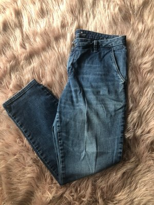 Tom Tailor 7/8 Length Trousers blue