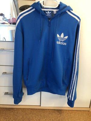 Adidas Bluza z kapturem niebieski