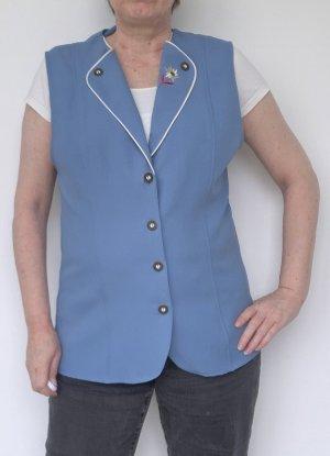 Lady Anne fashion Gilet polaire bleu azur polyester