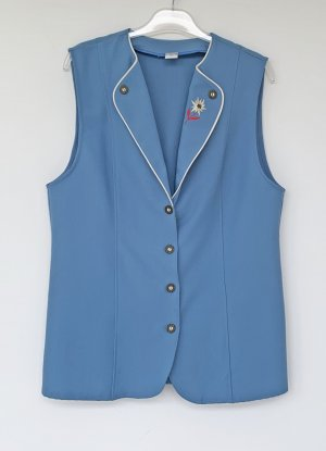 Lady Anne fashion Polarowa kamizelka błękitny Poliester