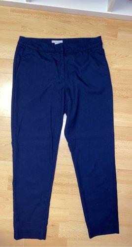 H&M Pantalón de vestir azul-azul acero