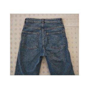 Blaue ausgestellte H&M Jeans
