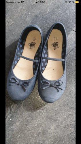 Tamaris Ballerines à lacets bleu acier-bleuet