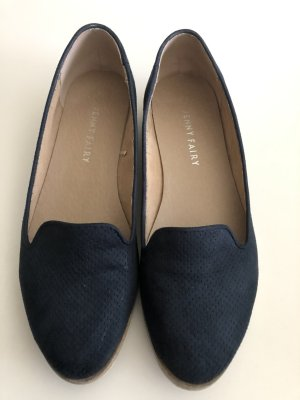 blaue Ballerinas /Halbschuhe von Jenny Fairy - Gr. 37, wenig getragen