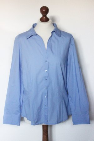 Blaue Basic Bluse Hemd Primark schick 42 L