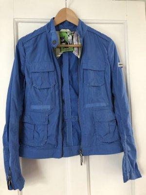 blaue Biker jacke von Frieda und Freddies Gr. 36