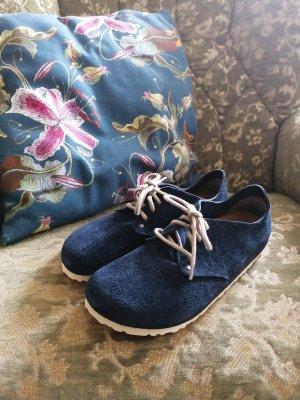 Birkenstock Sznurowane buty Wielokolorowy Skóra