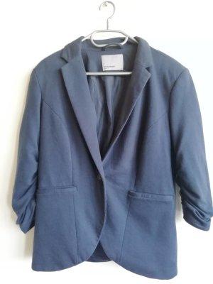 Vero Moda Blazer boyfriend bleu foncé polyester