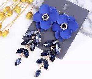 Accessoires Clou d'oreille bleu