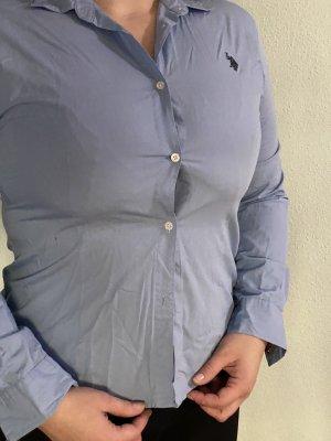 U.s. polo assn. Blouse longue bleu azur