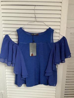 Dilvin Carmen Blouse blue