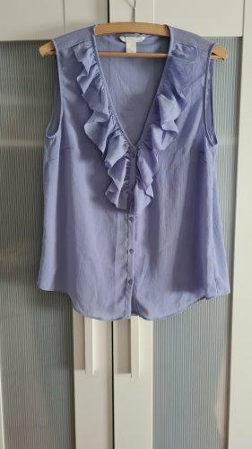 Blaue Bluse Gr 38