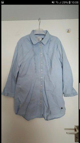 Blaue Bluse in Größe L
