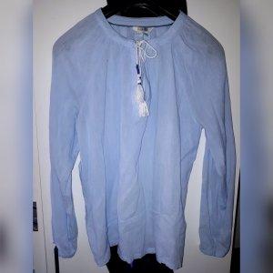Boden Blouse à manches longues bleu azur