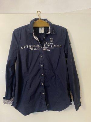 Blaue Bluse von Gastra in XXXL