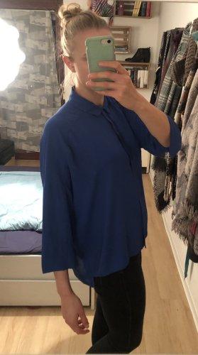 Blaue Bluse von Mango