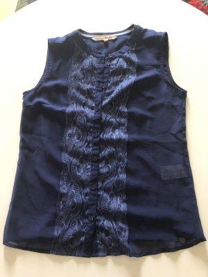 Blaue Bluse von Tom Tailor Denim