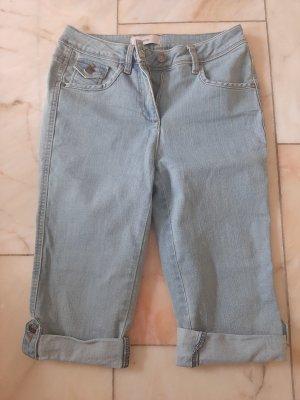 Heine Spodnie Capri jasnoniebieski