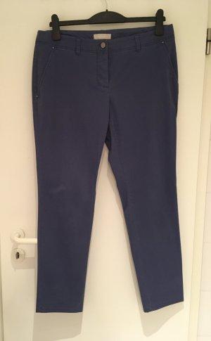 Blaue Chino von Stefanel in Größe 42