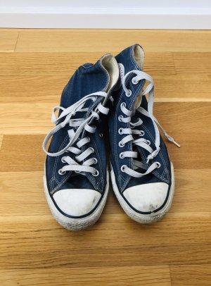 Blaue Chucks von Converse, Größe 39.5