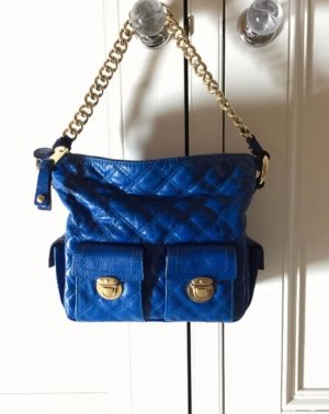 Marc Jacobs Handbag blue-sand brown leather
