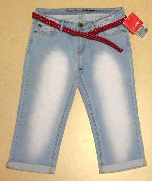 Livre 3/4 Length Jeans pale blue