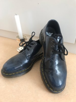 Dr. Martens Wingtip Shoes dark blue
