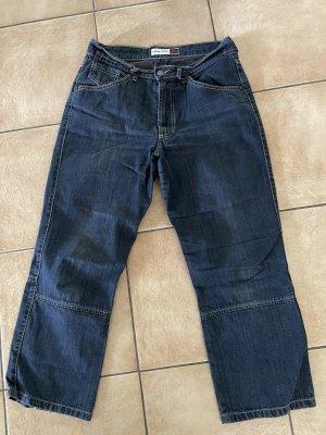 H.I.S Jeans a 3/4 blu-blu scuro