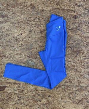 Blaue Gymshark Leggings in Größe XS