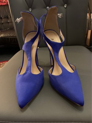 Blaue high heels