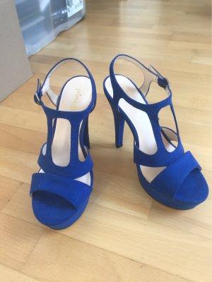 Blaue High Heels nie getragen!
