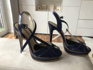 Blaue High Heels/ Pumps/ Sandaletten von Buffalo in Größe 39
