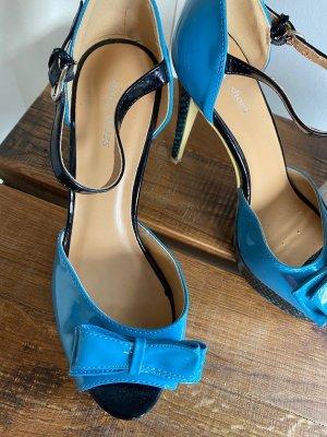 Blaue High Heels von Sinly Shoes, Gr. 40