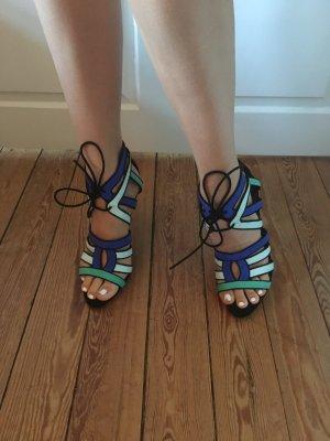 Blaue High Heels von Zara