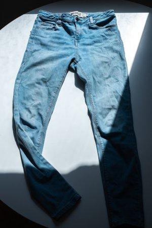 Brandy & Melville High Waist Jeans multicolored cotton