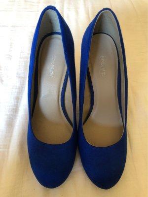 Blaue HighHeels