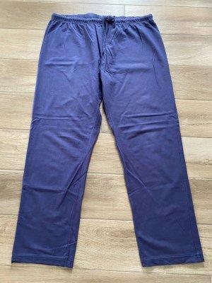 Completo sportivo blu acciaio-blu fiordaliso Cotone
